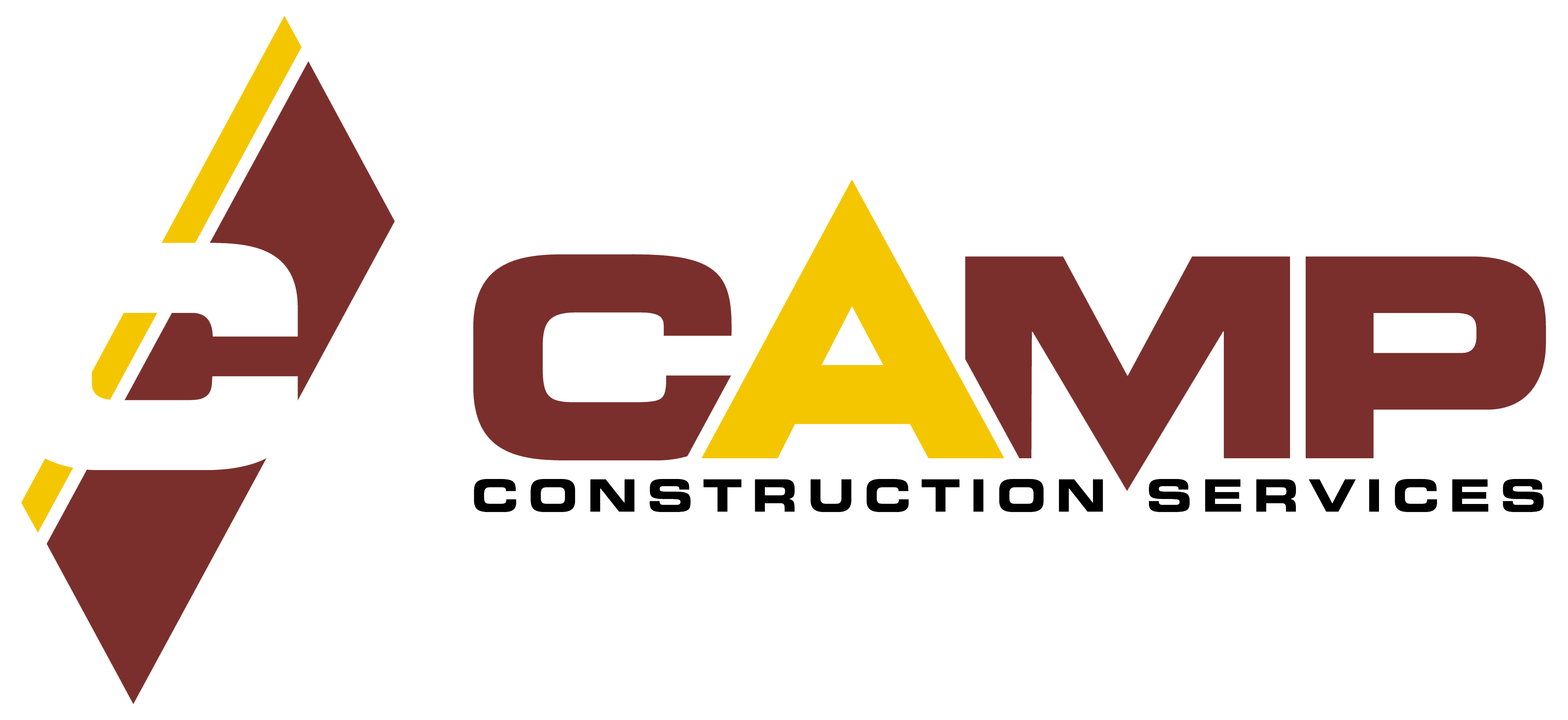 full color CAMP construction logo