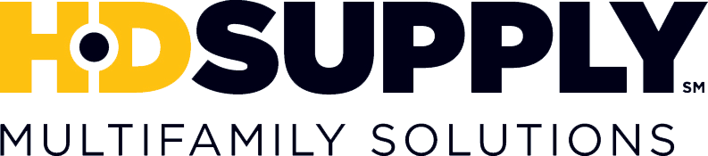 full color HD supply logo with tag